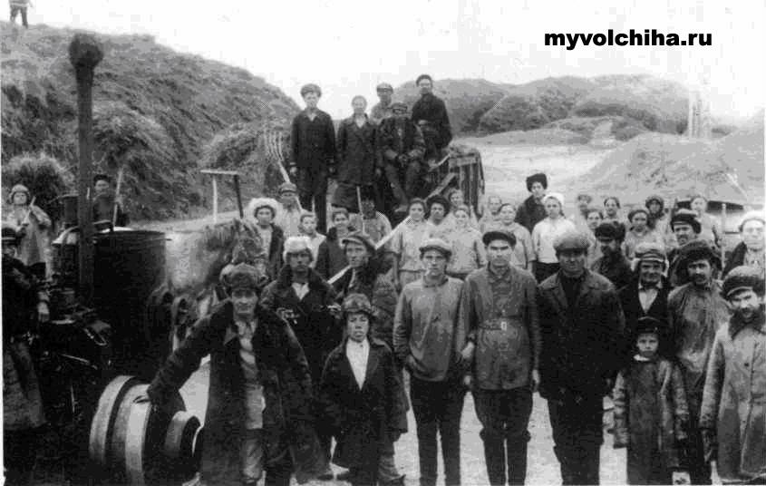 Kolhozniki Seliverstovo Воспоминания очевидца