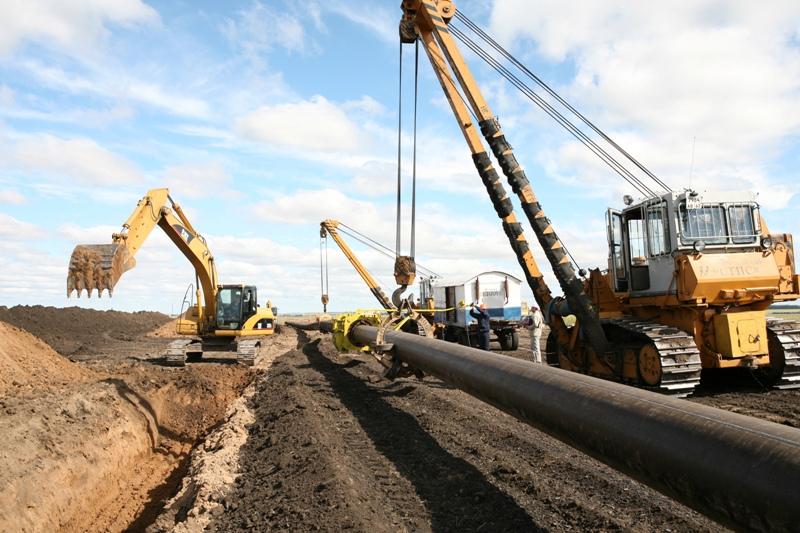 gazifikaciya polnyim hodom В Вятскополянском районе построен распределительный газопровод