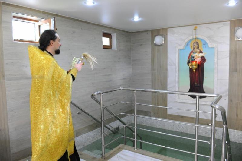В Трифоновом монастыре освятили мед