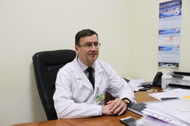 В Кировской областной больнице прошел лечение американец