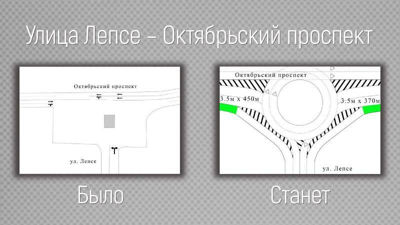 Движение на площади Лепсе может стать круговым