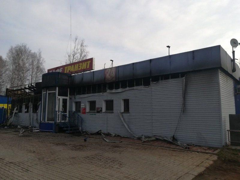 В Кирове инспектор ДПС спас людей из горящего кафе (+ФОТО)