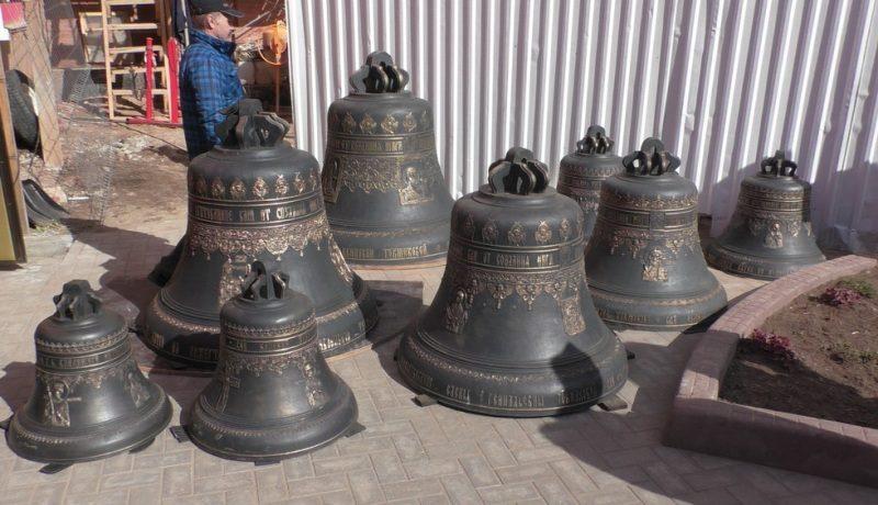В Спасский собор прибыли 19 колоколов