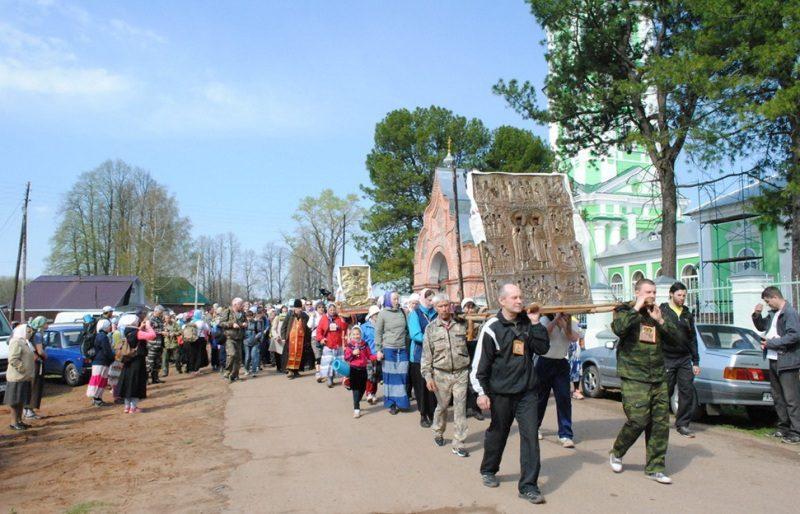 В Вятской епархии состоится Борисоглебский крестный ход (+РАСПИСАНИЕ)