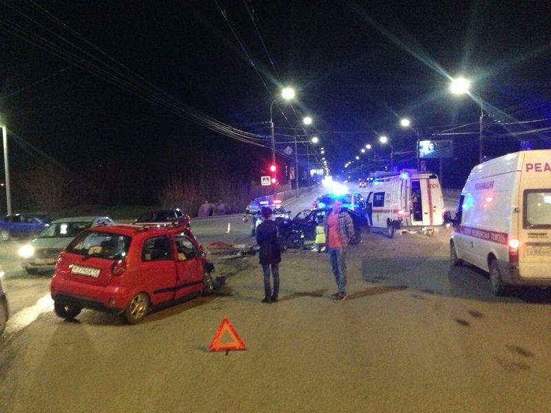 В Кирове в серьезной аварии пострадало 5 человек