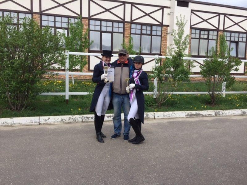Кировчанка и ее конь стали победителями международных соревнований (+ФОТО)