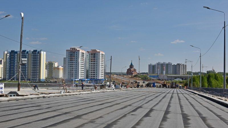 Движение по путепроводу в Чистые Пруды откроют 31 августа (+ФОТО)