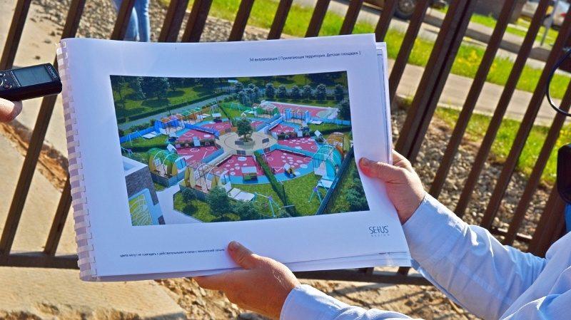 В Кирове началось строительство нового детского сада (+ФОТО)
