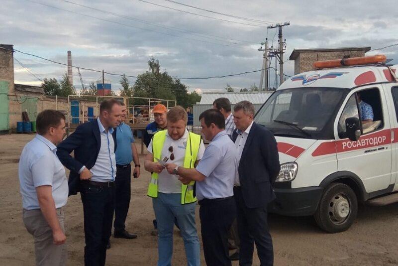 Специалисты Федерального агентства проверили качество ремонта кировских дорог