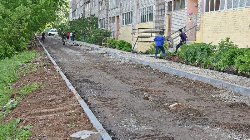 В приемке отремонтированных дворов будут участвовать их жители