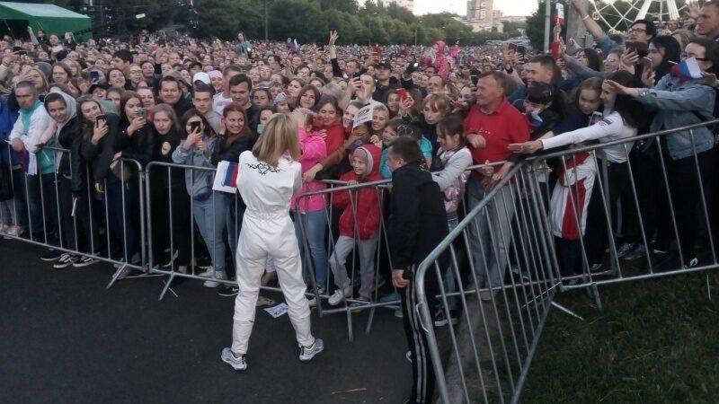 На концерт в честь 645-летия города Кирова собралось более 50 тысяч человек