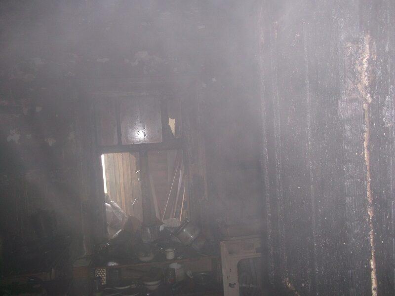 В субботу в Кирове потушили пожар (+ФОТО)