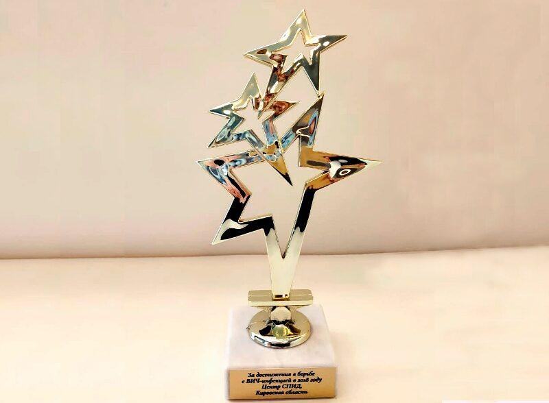 Специалисты кировского СПИД-центра получили награду