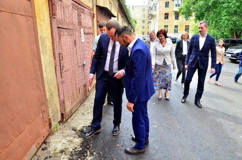 «УРАЛХИМ»: качество ремонта дворов в Кирово-Чепецке под контролем