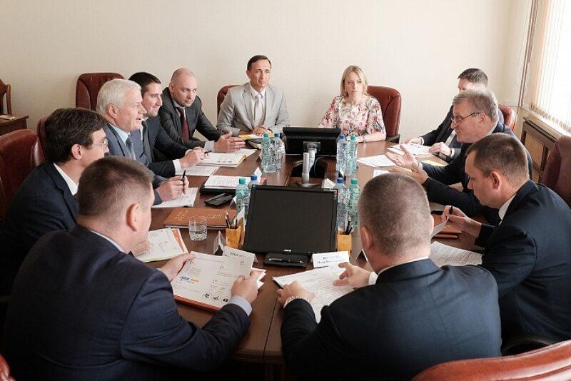 Глава региона подписал концессионное соглашение в сфере теплоснабжения