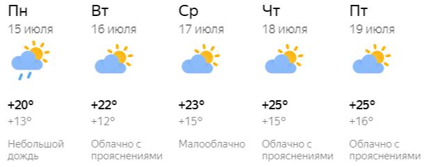 Середина июля: какая погода ждет кировчан