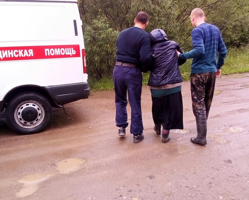 """Найденная пенсионерка предположила, что потерялась из-за """"нечистой силы"""" (+ФОТО)"""