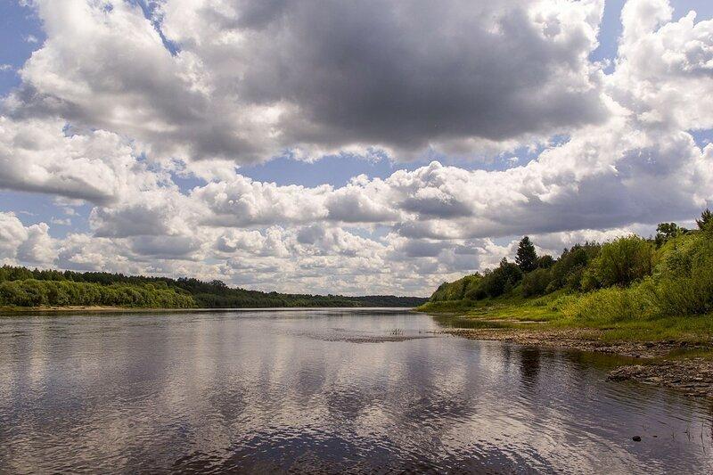 reka vyatka В Кировской области определят береговые линии реки Вятки