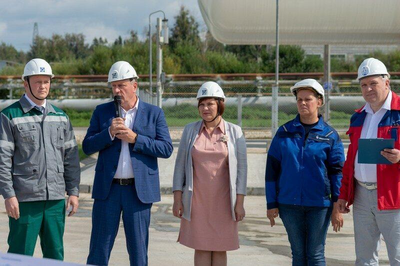 В Кирово-Чепецке введена в эксплуатацию новая станция для снабжения газообразным азотом филиала «КЧХК» АО «ОХК «УРАЛХИМ» и АО «ГалоПолимер»