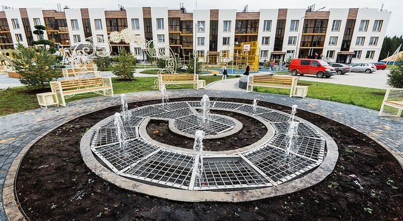 В Кирове появился один из самых необычных фонтанов
