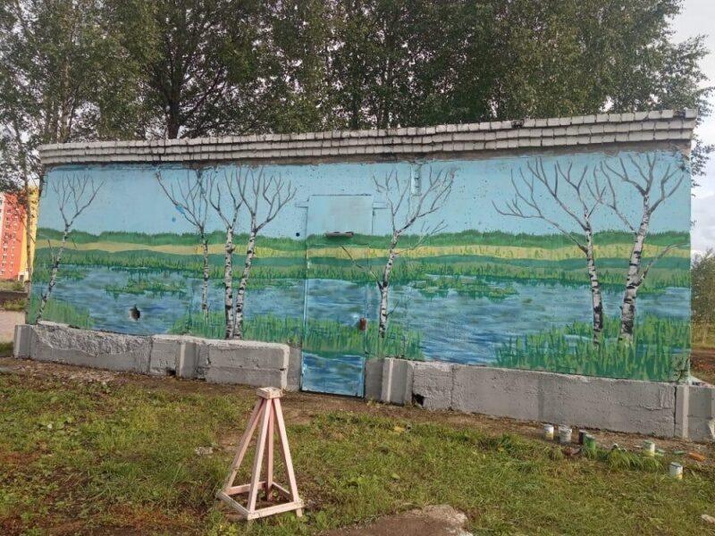 В Кирове появилась огромная картина (+ФОТО)