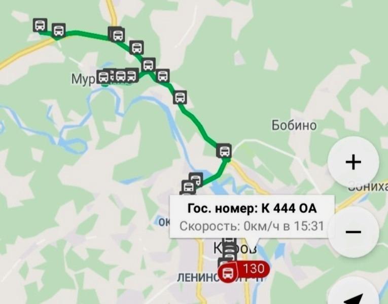 tsds Кировчане могут следить за движением пригородных автобусов онлайн