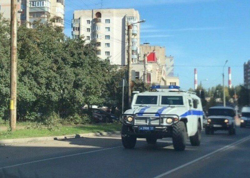 По городу проехались бронированные боевые машины (+ФОТО)