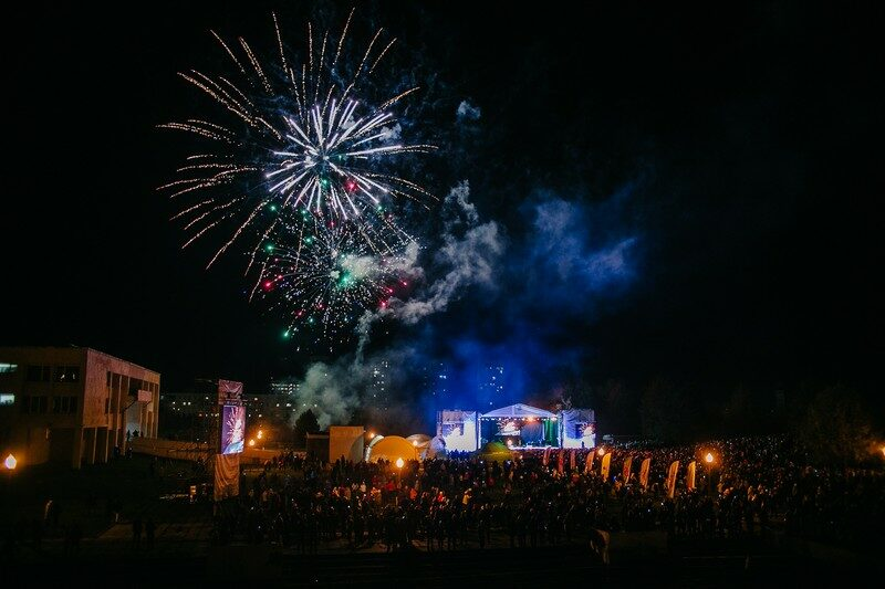 Семейный фестиваль «ВМЕСТЕ!» в Кирове собрал более 8 тысяч человек