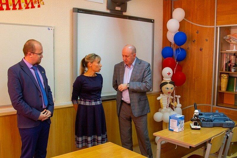 В Кировском лицее естественных наук открыт медицинский класс