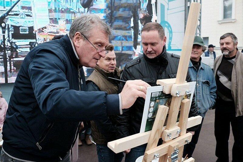 В Кирове открылась выставка работ Всероссийского Васнецовского пленэра