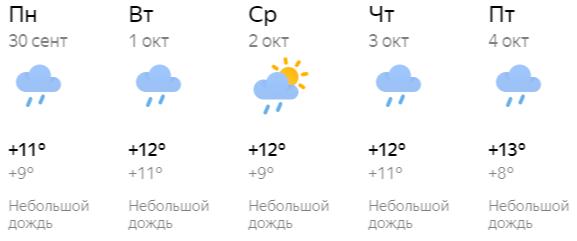 Октябрь в Кирове начнется с потепления