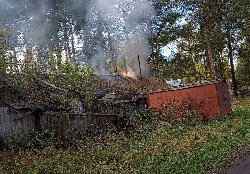 В Кировской области произошел пожар, взбудораживший жителей глубинки