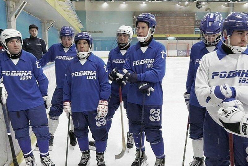 Тренировку хоккеистов кировской «Родины» посетил председатель правительства Кировской области