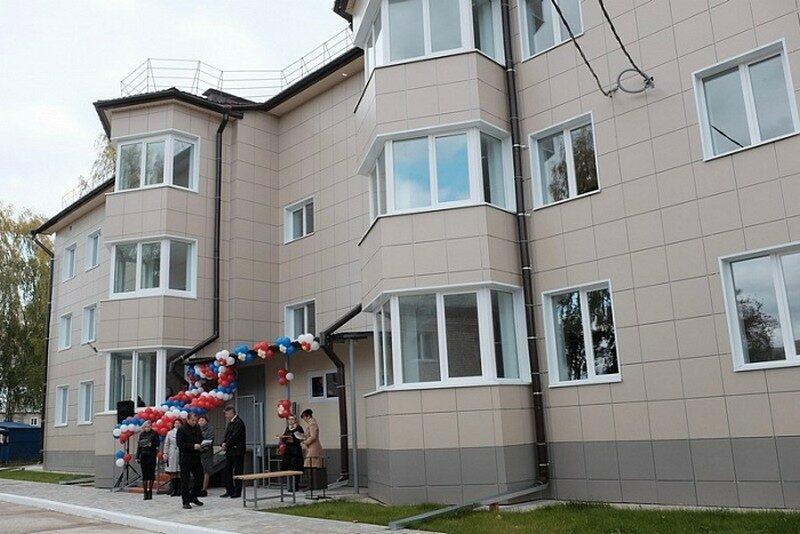 В Красной Поляне 24 семьи получили ключи от новых квартир