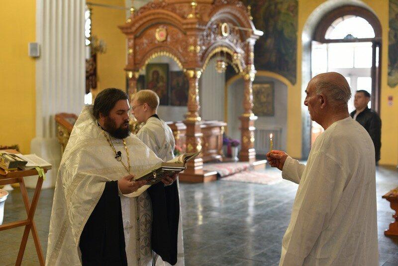 В Кировской области бывший адвентист принял крещение