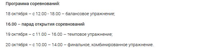 На днях состоится Кубок Кировской области по спортивной акробатике (+ПРОГРАММА)