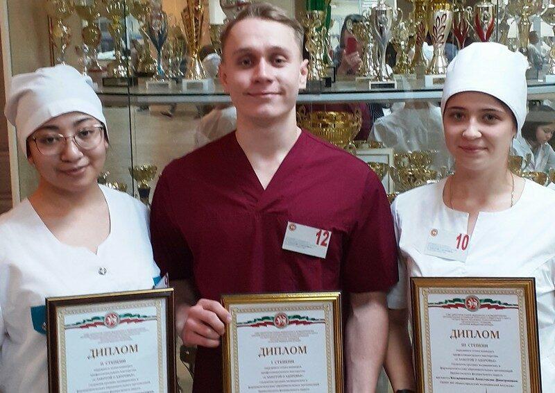 Студент кировского медколледжа стал лучшим в конкурсе профмастерства