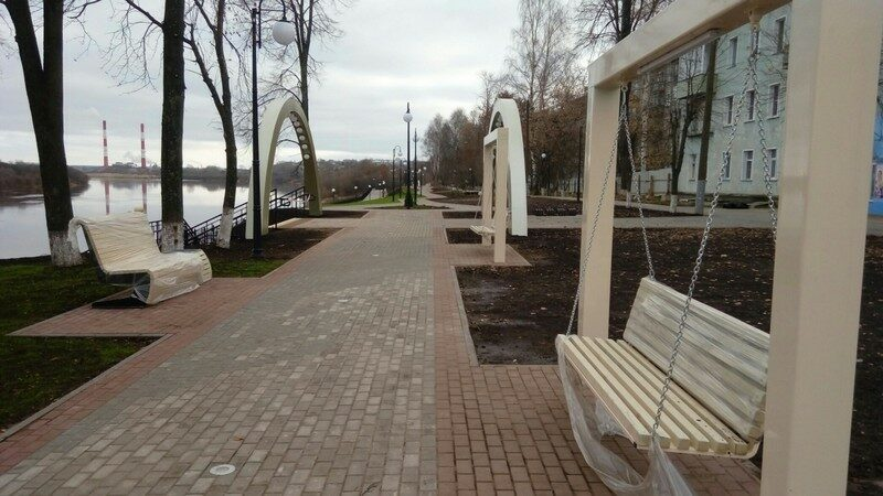 Реконструкция Нововятской набережной завершена