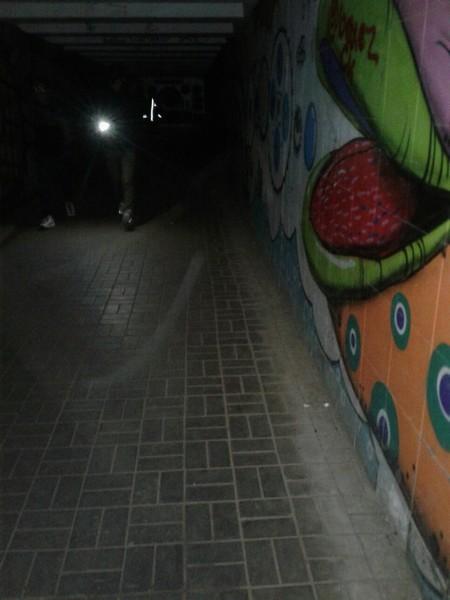 Подземный пешеходный переход у Дома обуви погрузился во тьму