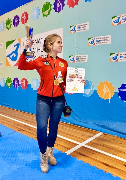 Кировчанка стала чемпионкой мира по самому молодому виду спорта (+ФОТО)