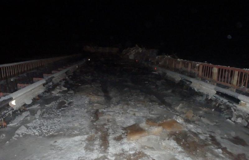 В Кировской области восстановили движение по мосту, который долгое время был затоплен