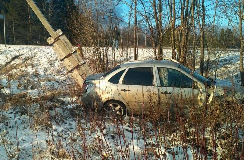 dtp orichevskiy rayon 1 В Оричевском районе «Лада Гранта» столкнулась с ГАЗ-2747