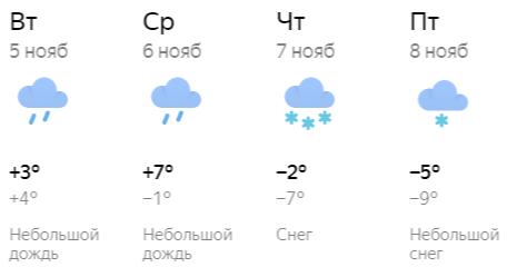 В Кирове опять пройдет снегопад