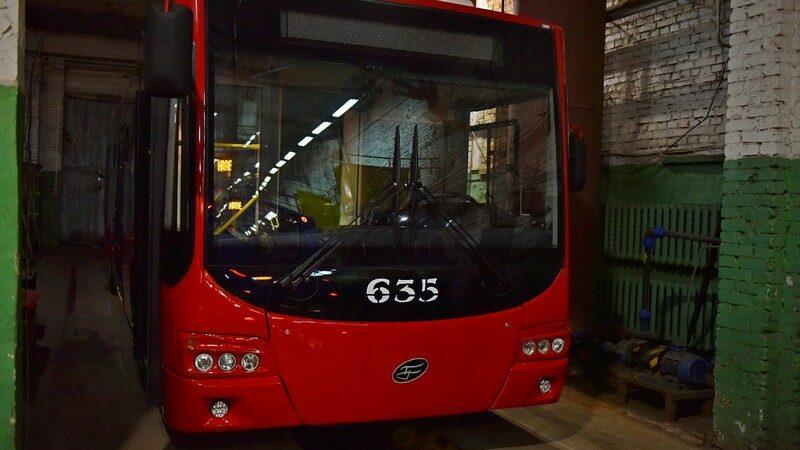 Появились фотографии новых кировских троллейбусов