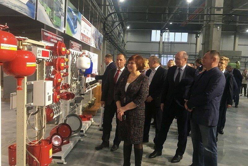 В Кировской области открыт завод по производству средств пожаротушения