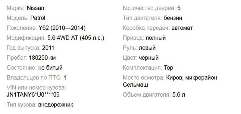 В Кирове перепродают машину Никиты Белых (+ФОТО)