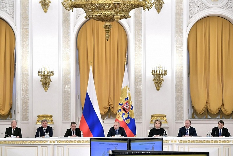 Губернатор Кировской области принял участие в Госсовете с президентом России