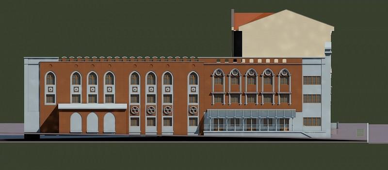 Представлен проект реконструкции бывших зданий КРИНа