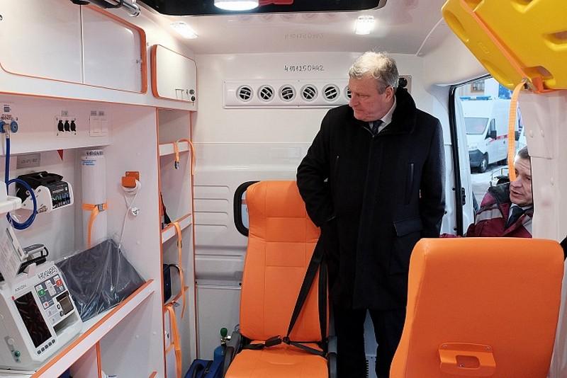 26 новых машин пополнили автопарк Единой службы скорой медицинской помощи региона