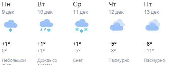 Погода в Кирове: оттепель, метеопредупреждение и еврозима